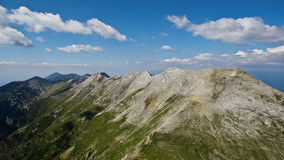 Extremely sharp ridge in Eastern Europe. Extremely sharp unique ridge shooted in Eastern Europe in summer morning stock image
