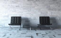 Extremely stylish interior Stock Images
