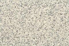 Extremer Abschluss oben der Epoxidboden- oder Wandbeschichtung des dekorativen Quarzsandes mit den verschiedenen Schatten von Gra lizenzfreie stockfotos
