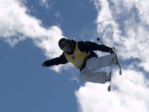 Extremer Ski Stockfoto