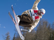 Extremer Ski Lizenzfreie Stockfotografie