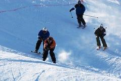 Extremer Skiwettbewerb Lizenzfreies Stockfoto
