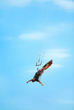 Extremer Sport Entspannender Wasser-Sport Kiteboarding, Kitesurf Stockfotografie