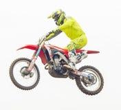 Extremer Sportmotocrosswettbewerb Lizenzfreies Stockbild
