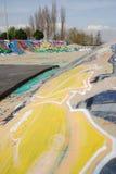 Extremer Sportpark Stockbild