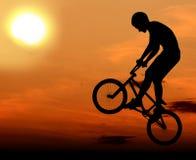 Extremes Fahrrad Stockbild