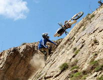 Extremes Motorrad Stockfotografie