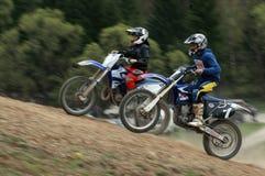 Extremes Motorrad Lizenzfreies Stockbild