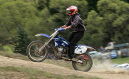 Extremes Motorrad Lizenzfreie Stockbilder