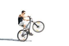 Extremes Radfahren Lizenzfreies Stockbild