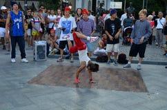 Extremes Tanzen Lizenzfreies Stockbild