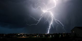 Extremes Wetter Lizenzfreie Stockfotos