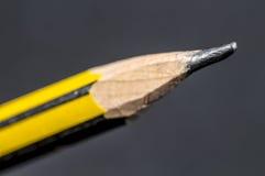 Extremidad del lápiz de madera Imagen de archivo libre de regalías