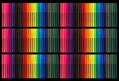 Extremidad Pen Background del fieltro del color Imagen de archivo libre de regalías