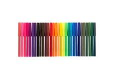 Extremidad Pen Background del fieltro del color Imagen de archivo