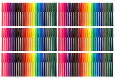 Extremidad Pen Background del fieltro del color Fotografía de archivo libre de regalías