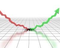 Extremidade da crise Fotografia de Stock Royalty Free