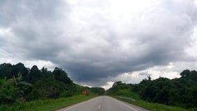 Extremidade da estrada fotografia de stock