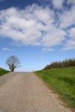 Extremidade da estrada Fotos de Stock