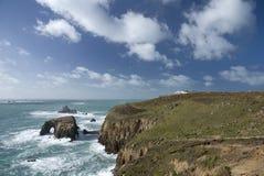 Extremidade da terra, Cornualha. Inglaterra Foto de Stock
