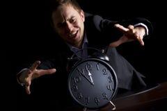 Extremidade de aproximação para a pessoa do negócio. Imagens de Stock Royalty Free