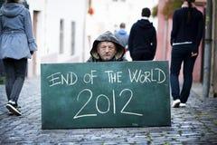Extremidade do mundo Foto de Stock