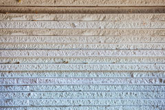 Extremidade do plasterboard Imagens de Stock