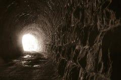 Extremidade do túnel Fotos de Stock