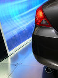 Extremidade traseira de um veículo novo Imagens de Stock Royalty Free