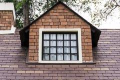 Extremidade triangular de um telhado Imagem de Stock