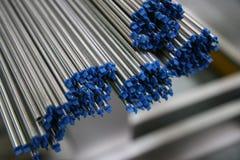 Extremidades de tubulação de aço pequenas Imagens de Stock