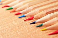 Extremidades del lápiz Imagen de archivo