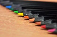Extremidades del lápiz Fotografía de archivo libre de regalías