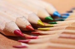 Extremidades del lápiz Imagen de archivo libre de regalías