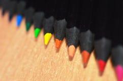 Extremidades del lápiz Fotos de archivo libres de regalías