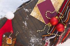 Extremidades del viaje de las vacaciones del invierno Fotografía de archivo