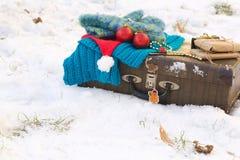 Extremidades del viaje de las vacaciones del invierno Fotos de archivo