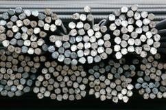 Extremidades do re-bar de aço Imagem de Stock
