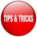 extremidades y botón de los trucos stock de ilustración