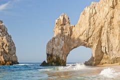 Extremo Cabo San Lucas de las pistas Imagen de archivo