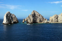 Extremo Cabo San Lucas México de las pistas Imagen de archivo