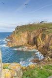 Extremo Cornualles Inglaterra Reino Unido de las tierras fotos de archivo