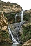 Extremo de la caída del agua Fotos de archivo libres de regalías
