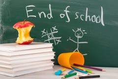 Extremo de la escuela. Tiempo de las vacaciones de verano Fotos de archivo