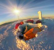 Extremo del Año Nuevo Imagen de archivo libre de regalías