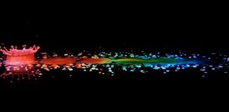 Extremo del arco iris Foto de archivo
