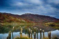 Extremo del mundo, Tierra del Fuego Imagen de archivo