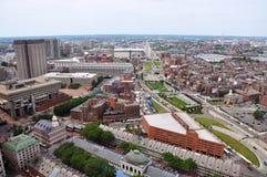 Extremo del norte de Boston, Boston, los E.E.U.U. imagen de archivo libre de regalías