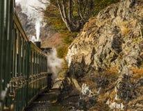 Extremo del tren del mundo, Tierra del Fuego Imagen de archivo libre de regalías