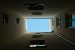 Extremo ligero del túnel Foto de archivo libre de regalías